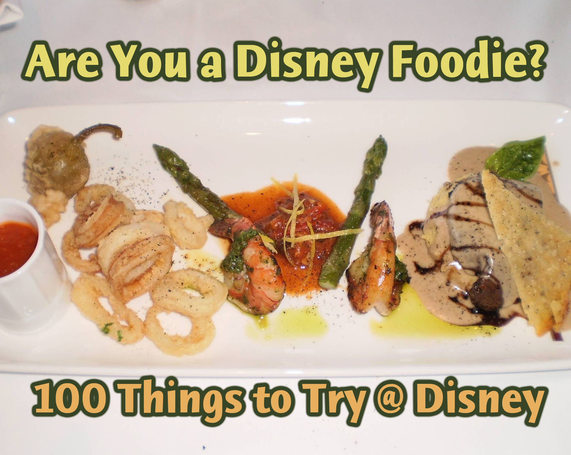 Photo illustrating DisneyFoodie