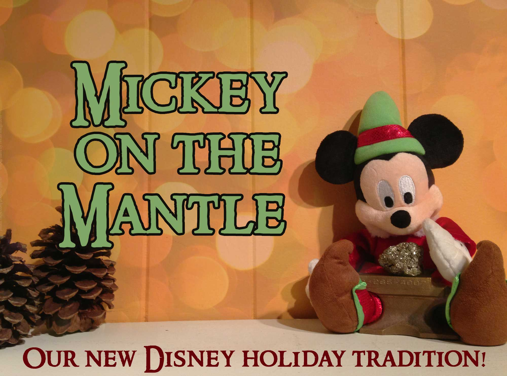 Photo illustrating MickeyOnTheMantle1