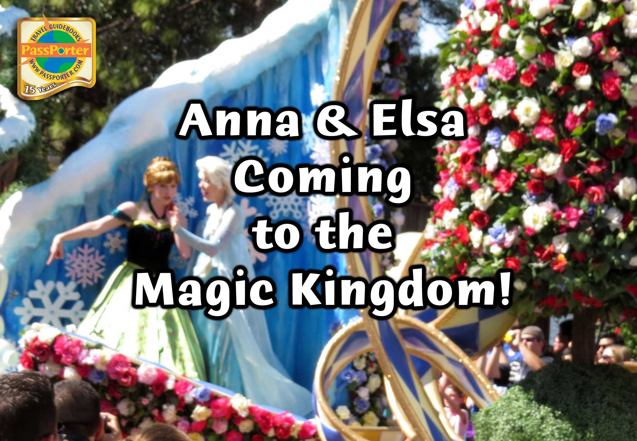 Photo illustrating Anna-Elsa-Magic-Kingdom