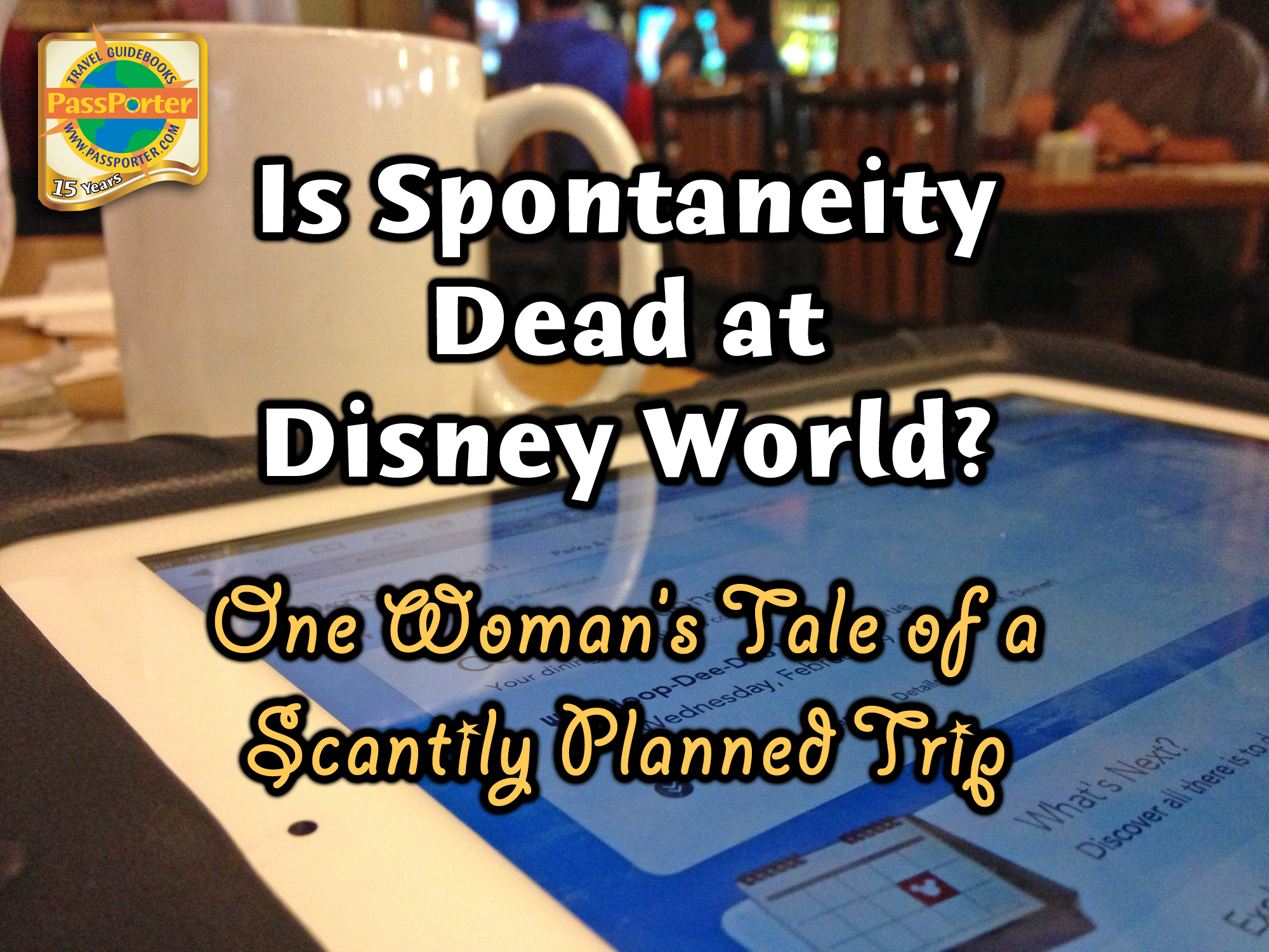 Photo illustrating spontaneity-at-disney